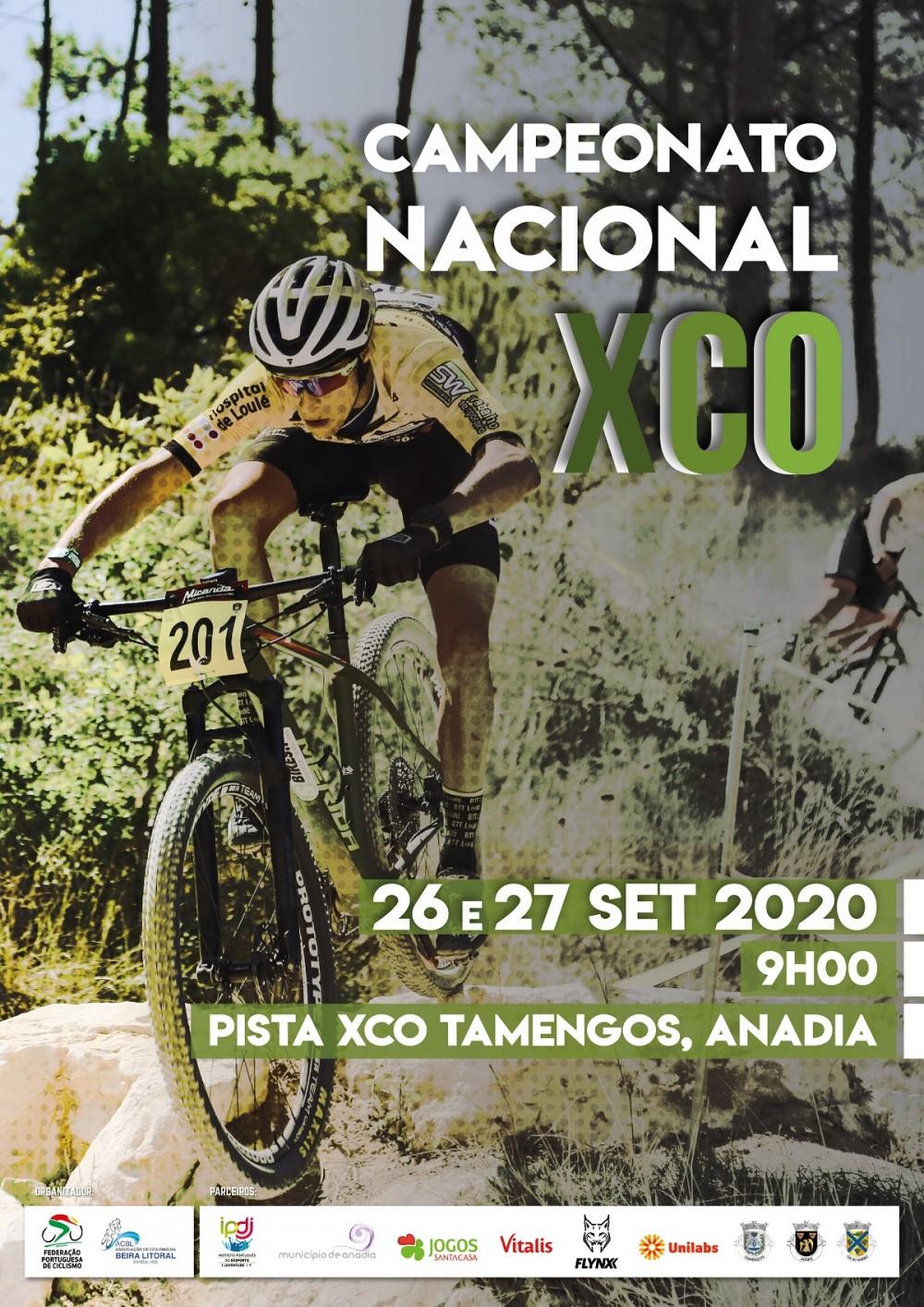 Campeonato Nacional XCO - Tamengos, Anadia