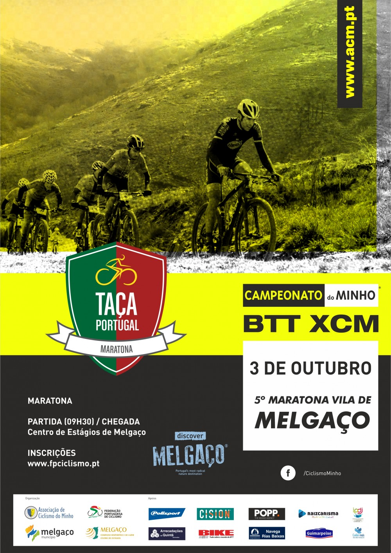 3ª Taça de Portugal XCM - 5º Maratona BTT Vila de Melgaço