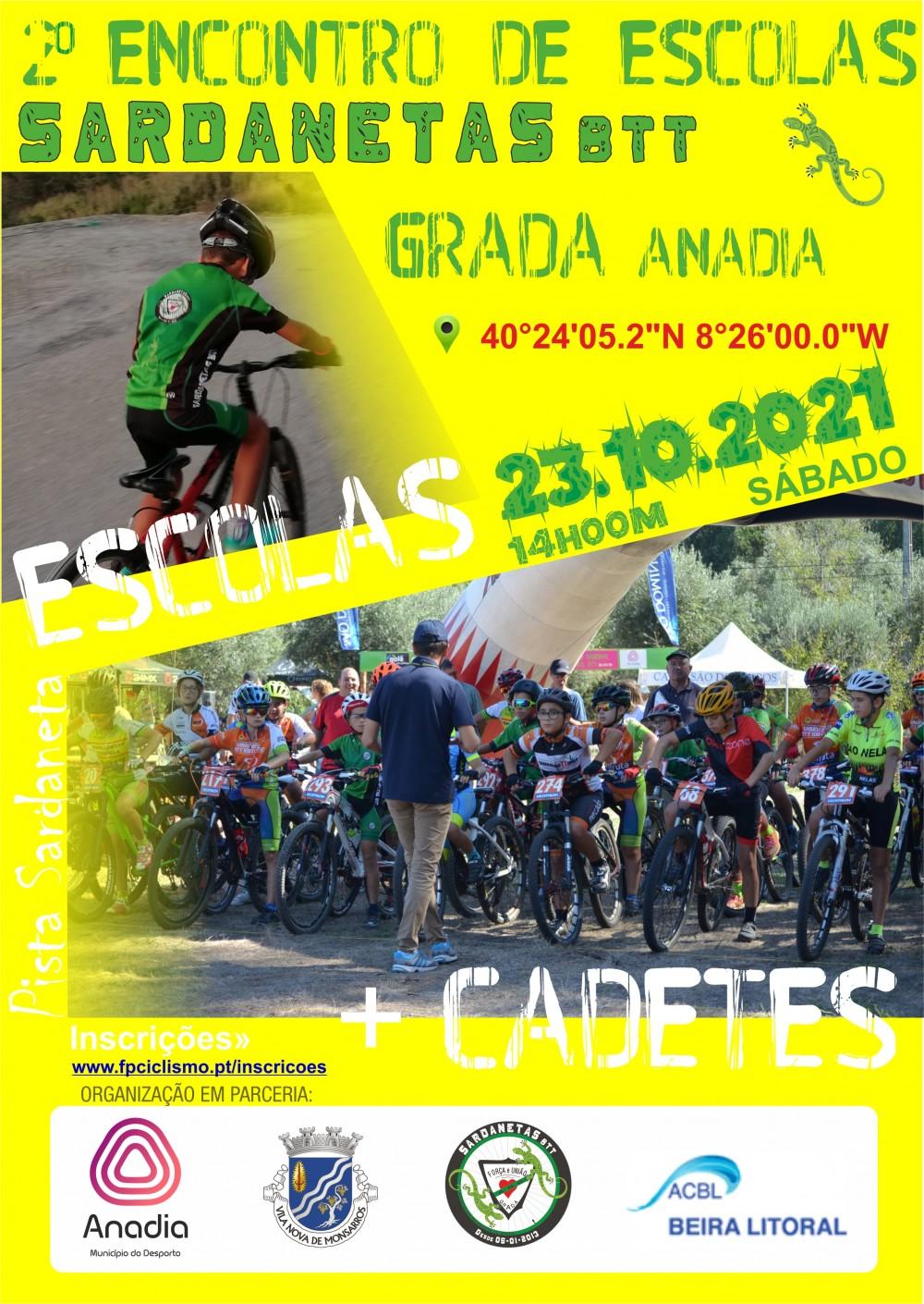Encontro de Escolas Sardanetas BTT - Grada, Anadia