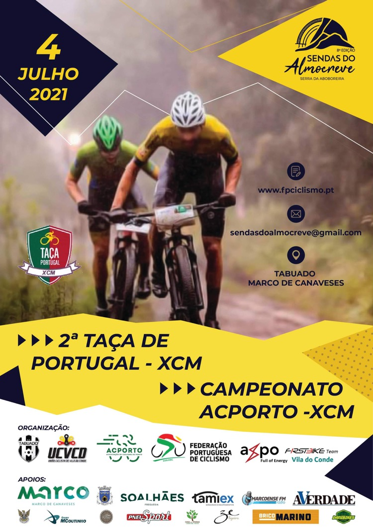 2ª Taça de Portugal XCM - Maratona BTT Sendas do Almocreve 2021