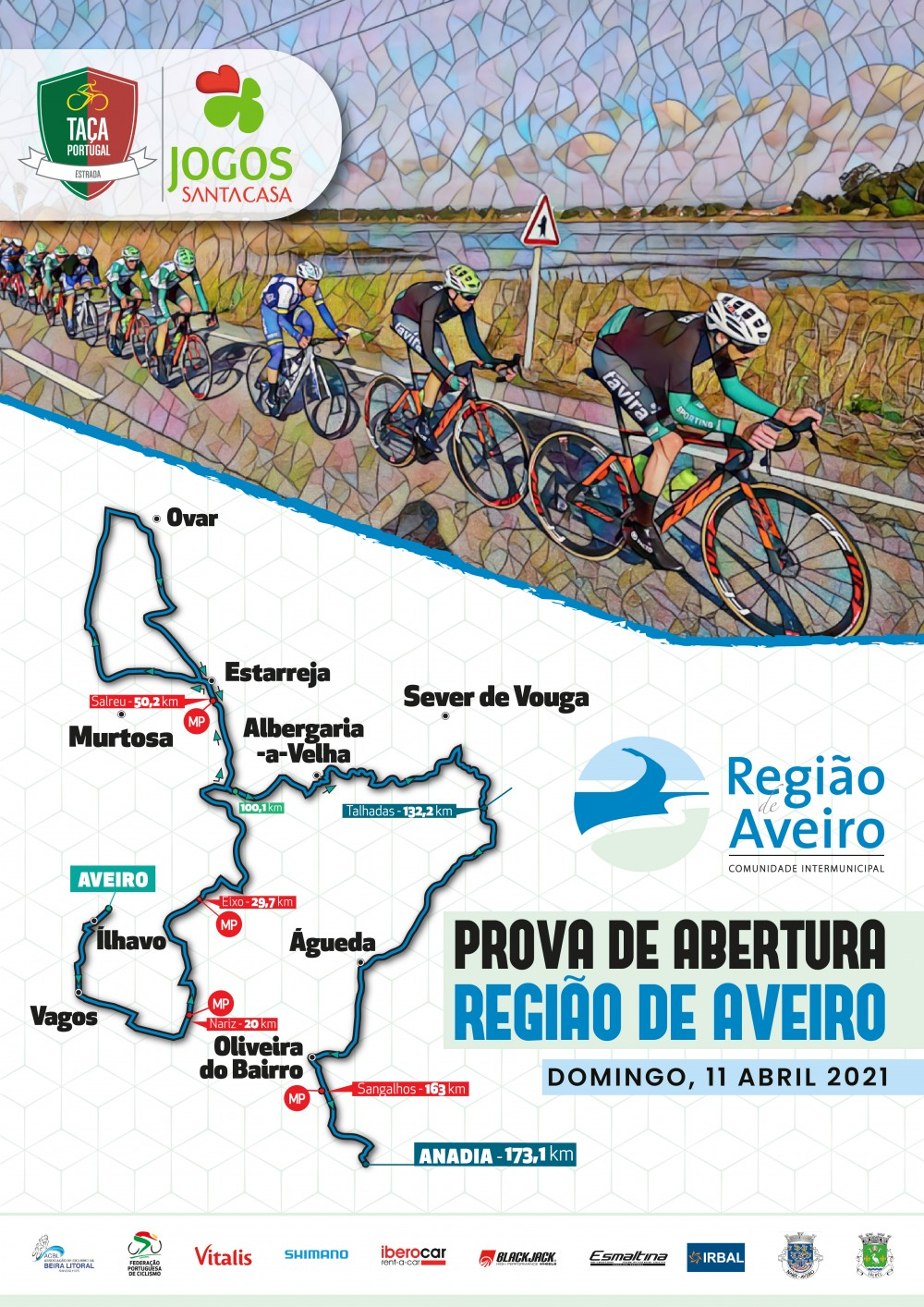 Prova de Abertura - Região de Aveiro - Taça de Portugal Jogos Santa Casa