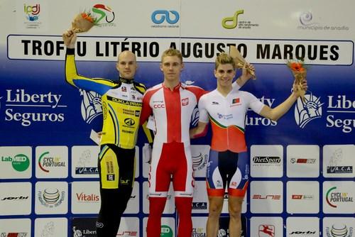 Rui Oliveira terceiro na prova de scratch