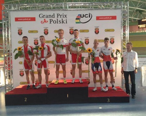 Três corridas, dois pódios na Polónia