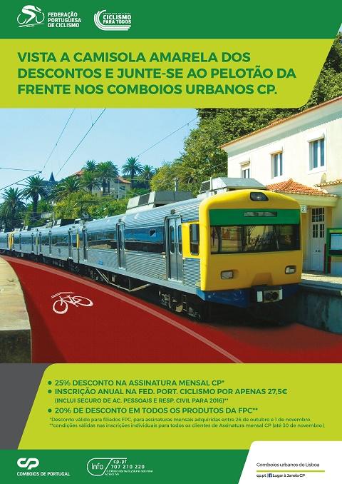 FPC e CP promovem prática do ciclismo