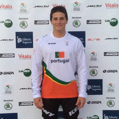 André Martins na estreia do BMX luso em provas olímpicas