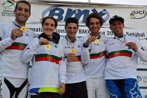 André Martins campeão nacional de BMX