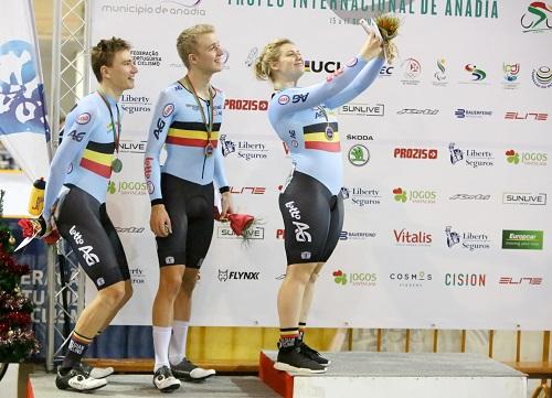 Bélgica mais forte nas provas olímpicas
