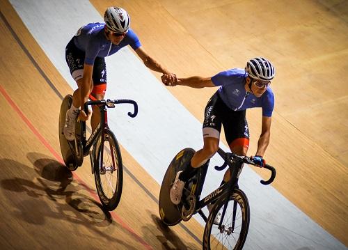 Ivo e Rui Oliveira campeões nacionais de madison