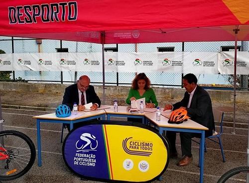 O Ciclismo Vai à Escola em Vila Franca de Xira