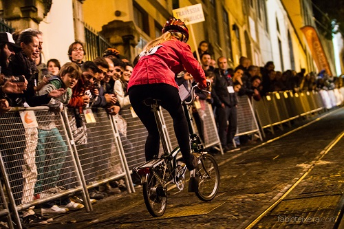Uma noite de festa de ciclismo com a Subida à Glória