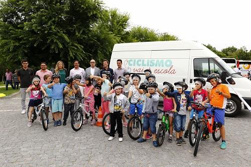 O Ciclismo Vai à Escola também em Santo Tirso