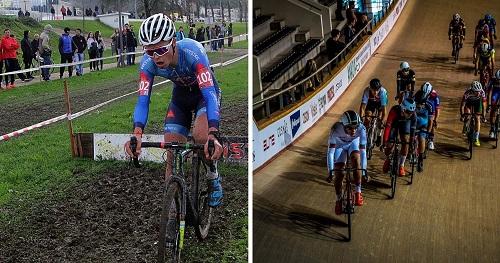 Ano novo começa com pista e ciclocrosse