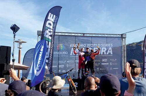José Borges foi segundo na etapa madeirense da Enduro World Series