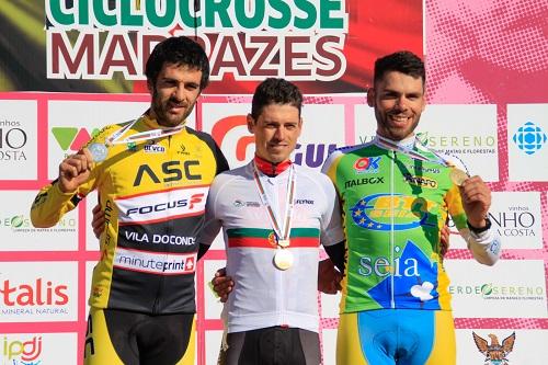 Márcio Barbosa e Ana Santos conquistam títulos de ciclocrosse
