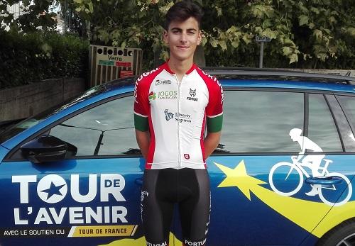 Guilherme Mota melhor português na quinta etapa do Tour do Futuro