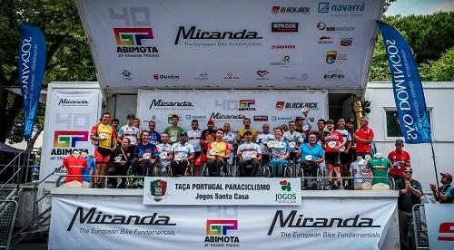 Pelotão de 27 disputou Taça de Paraciclismo em Lisboa