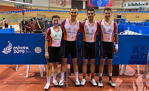 Equipa Portugal consegue quinta posição na disciplina olímpica de madison
