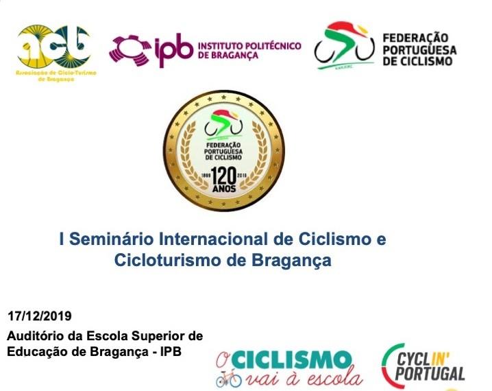 Seminário de ciclismo e cicloturismo em Bragança