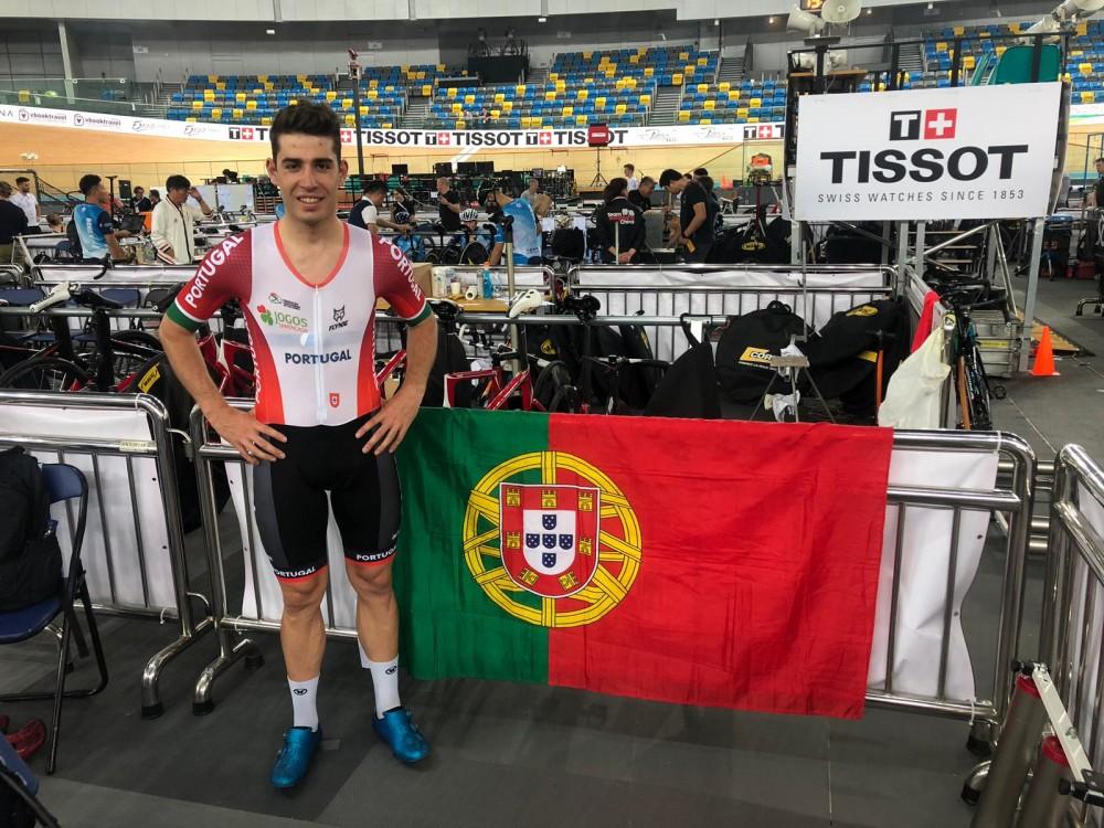 João Matias representa Portugal na Taça do Mundo de Pista