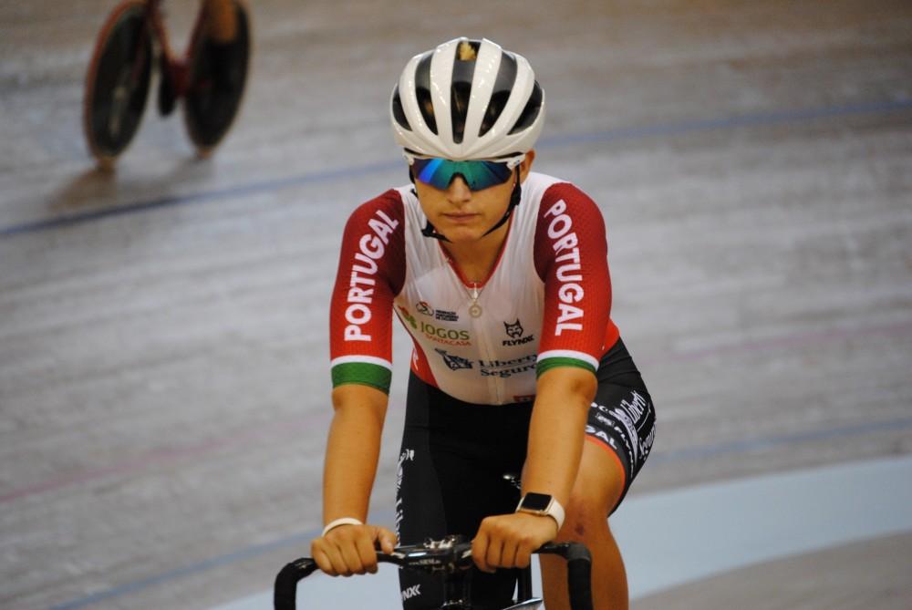 Maria Martins quinta classificada na corrida por pontos