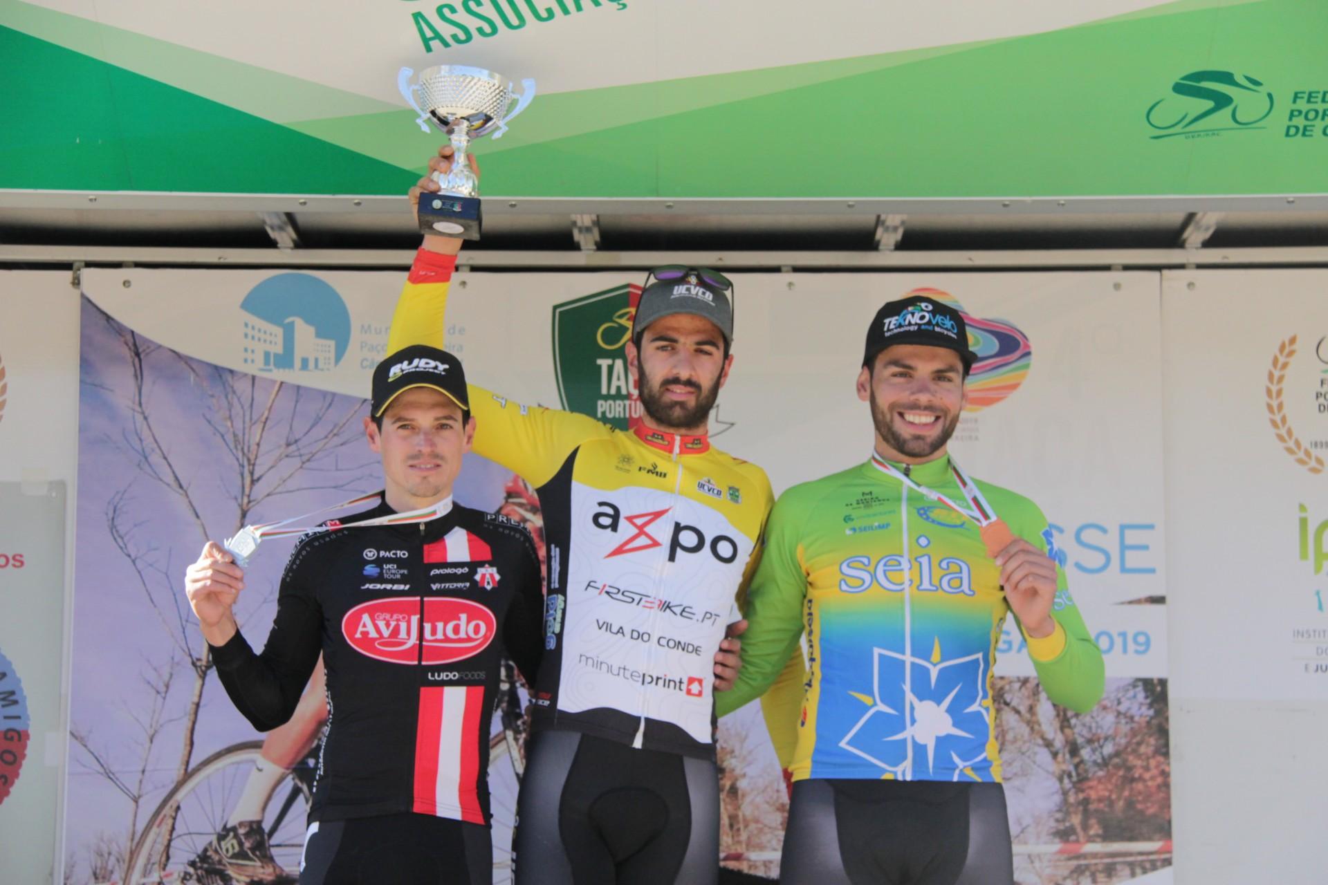 Mário Costa e Ana Santos são os vencedores da Taça de Ciclocrosse