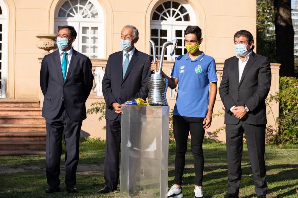 Presidente da República recebe Delmino Pereira e Amaro Antunes