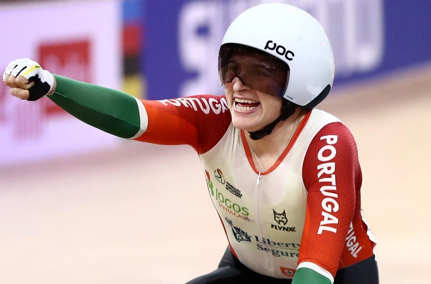 Maria Martins quarta no concurso olímpico de omnium