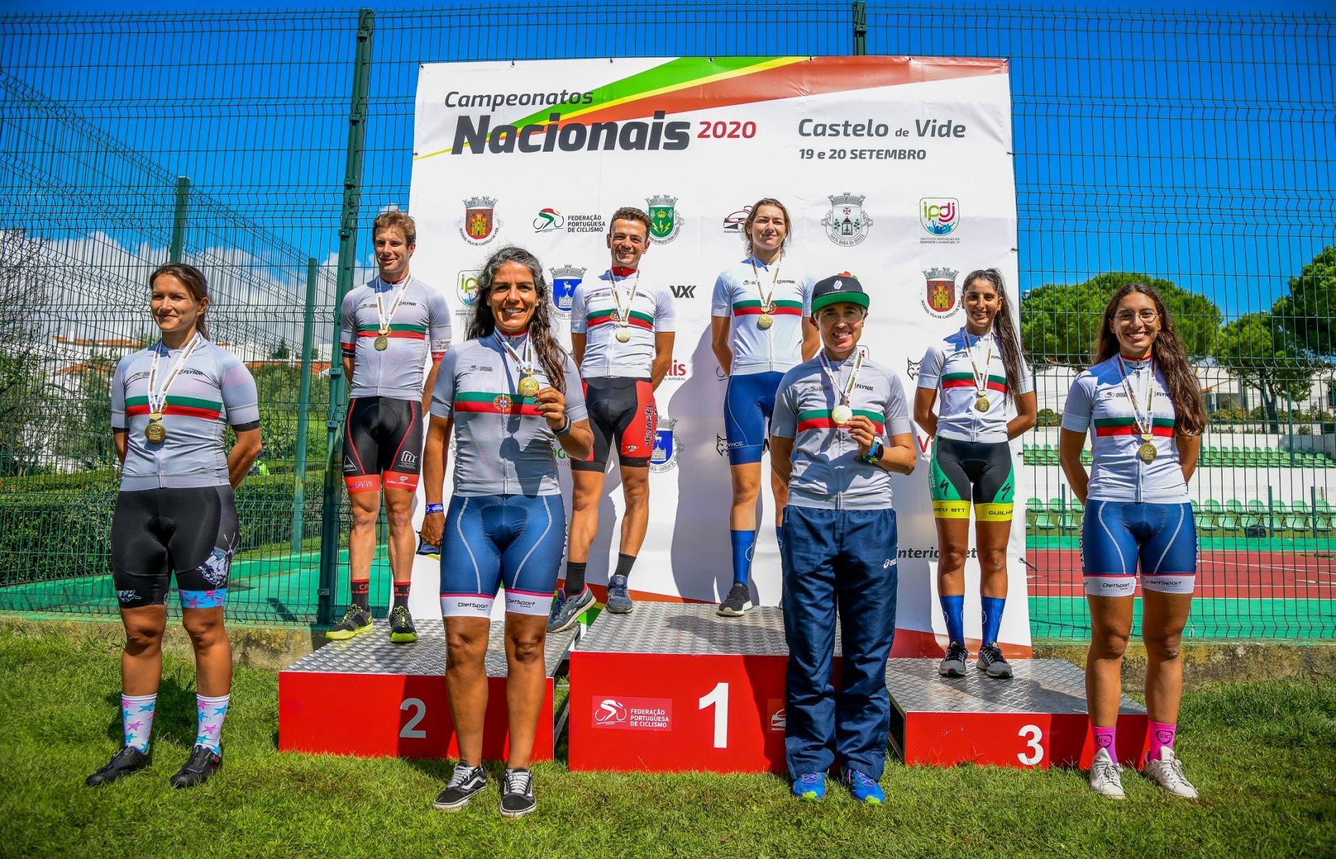 Raquel Queirós campeã nacional de contrarrelógio