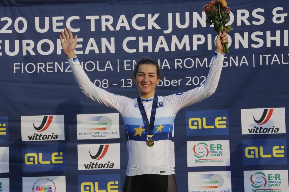 Daniela Campos campeã europeia de eliminação
