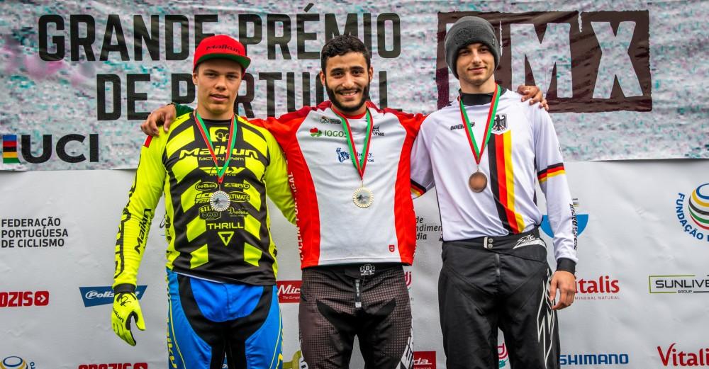 Bruno Cardoso conquista GP Portugal de BMX Race