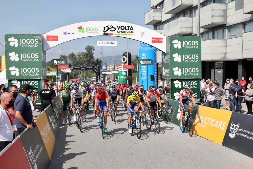 Direto em texto da terceira etapa da Volta a Portugal Edição Especial Jogos Santa Casa