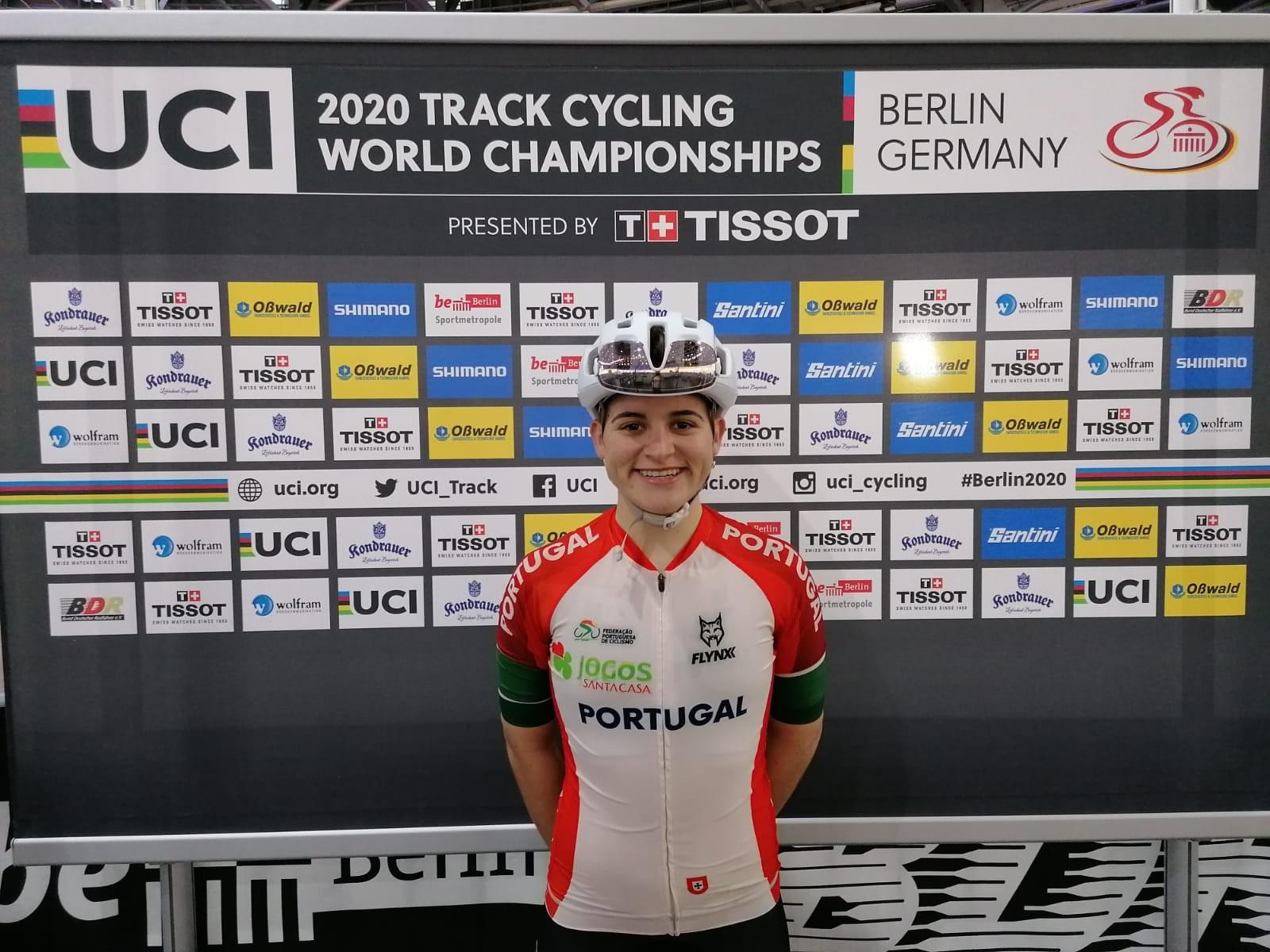 Medalha de bronze para Maria Martins no mundial de scratch