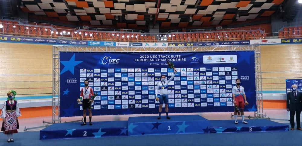 Iuri Leitão conquista medalha de prata em eliminação