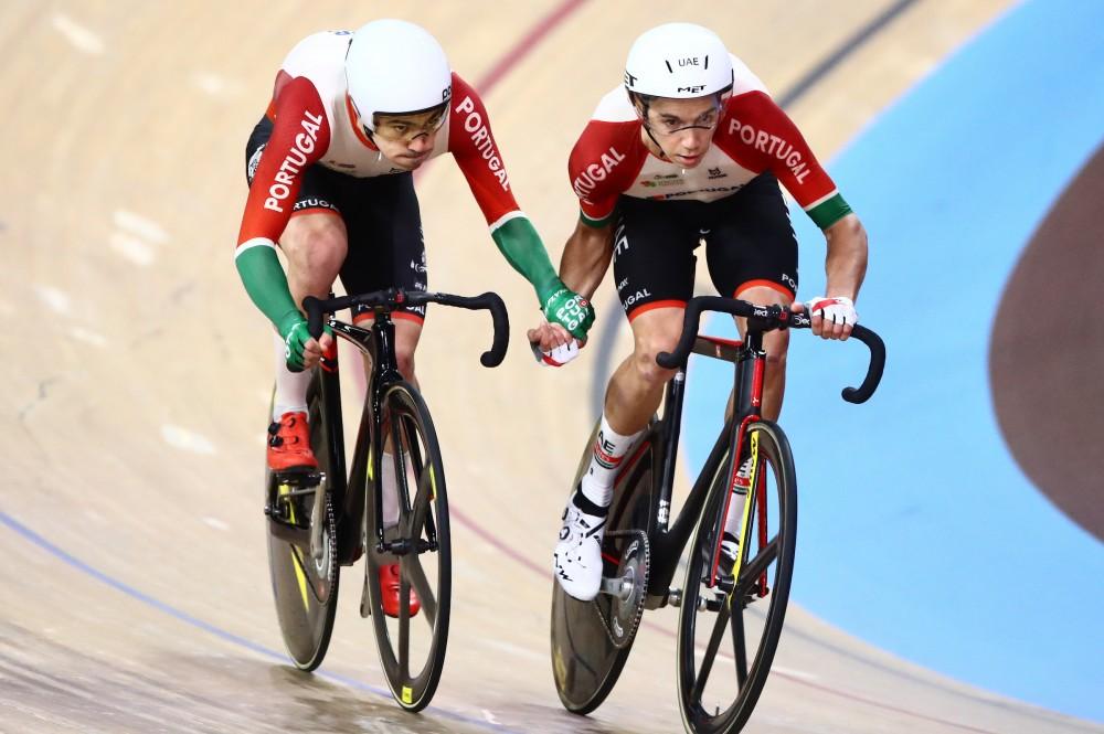 Portugal em 14.º na prova de madison do Mundial de pista