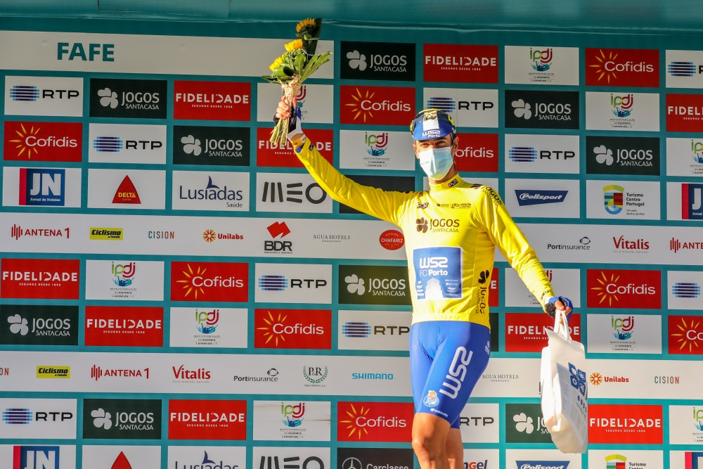Gustavo César Veloso conquista amarela em Fafe