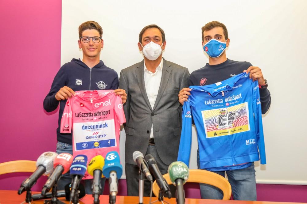 João Almeida e Rúben Guerreiro voltam do Giro com muitas histórias para contar