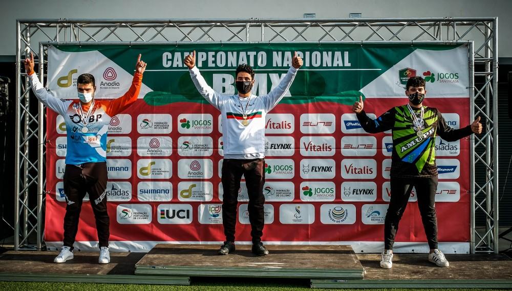 Bruno Cardoso confirma favoritismo em Sangalhos e sagra-se campeão de BMX