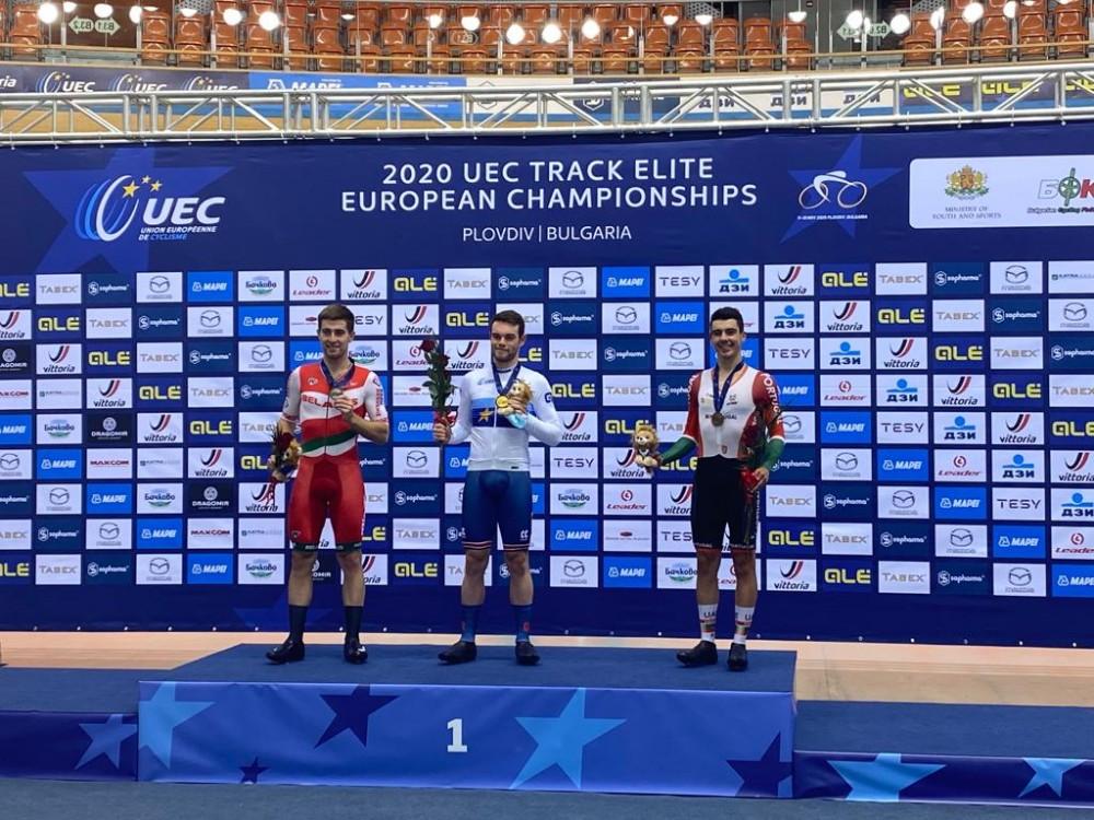 Iuri Leitão conquista medalha de bronze em omnium