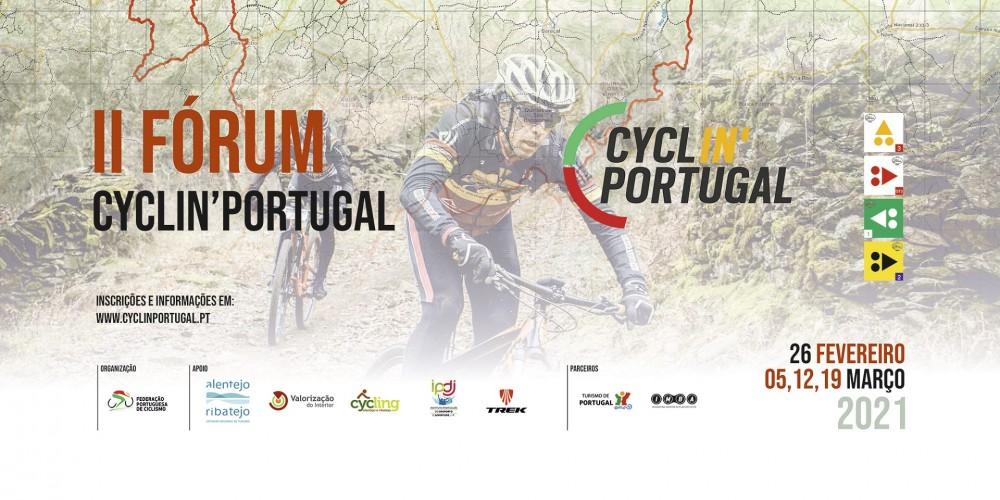 Edição online do Fórum Cyclin'Portugal em fevereiro e março