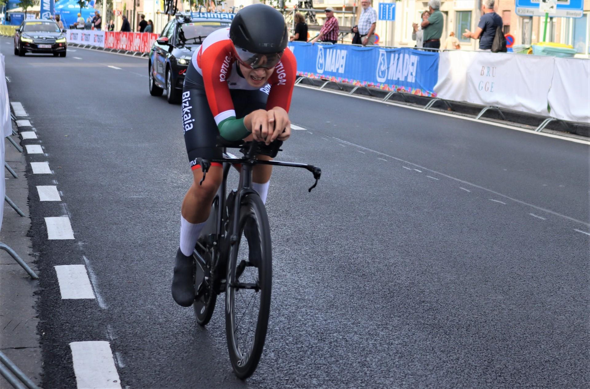 Daniela Campos 41.ª no contrarrelógio de elite do Campeonato do Mundo