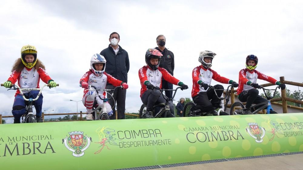 Coimbra inaugura nova pista de BMX