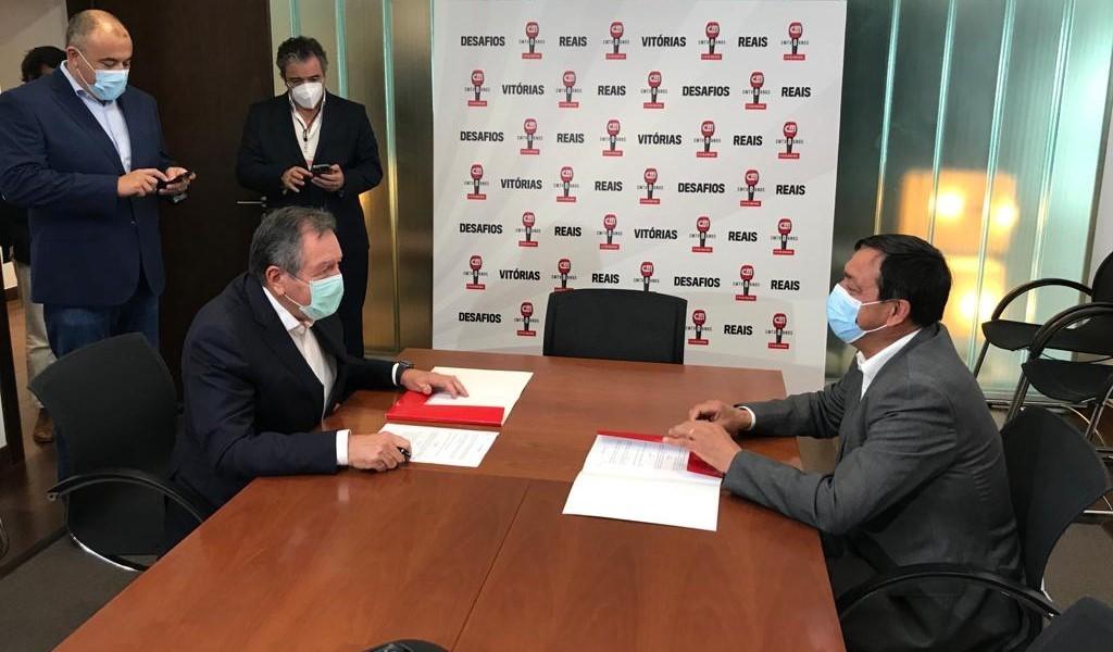 Federação e Cofina assinam protocolo para divulgação da modalidade