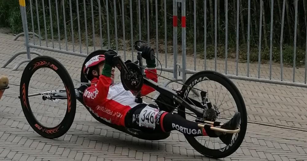 Flávio Pacheco 16.º na Taça do Mundo de Paraciclismo