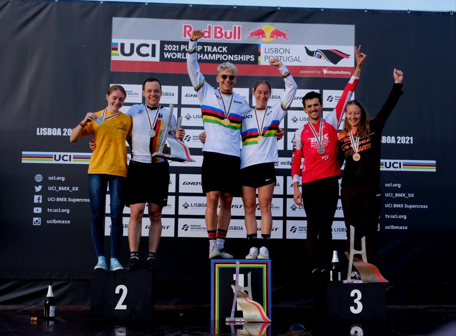 Eddy Clerte e Aiko Gommers sagram-se campeões do mundo de Pump Track em Lisboa