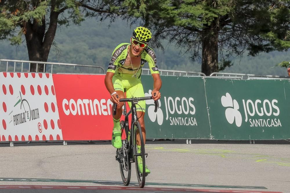Mauricio Moreira é o primeiro camisola amarela no JN