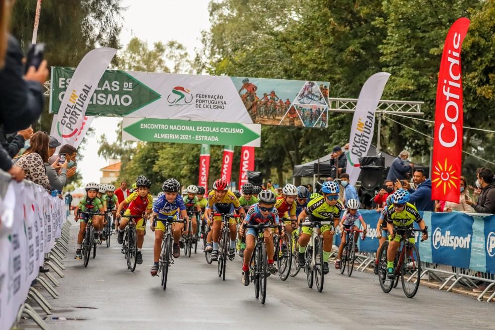 Jovens regressam a Almeirim para a festa do ciclismo de formação