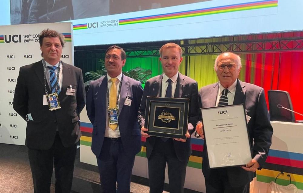 Artur Lopes Membro Honorário do Comité Diretor da UCI