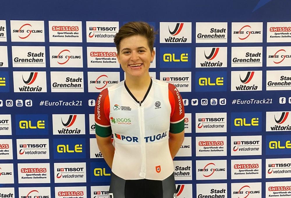 Maria Martins no top 5 mundial do omnium feminino