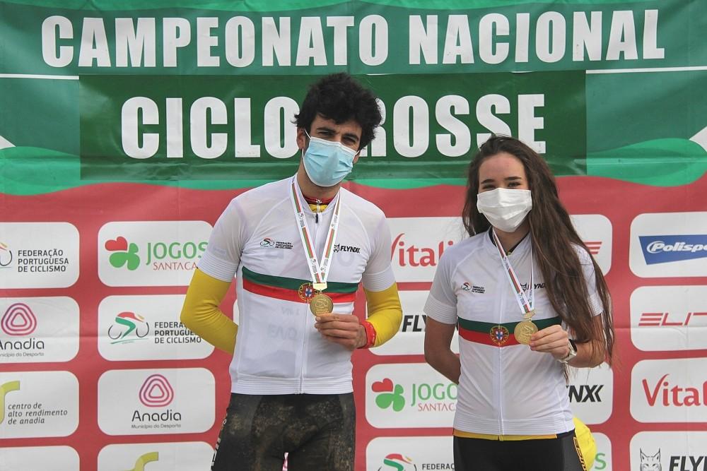 Mário Costa e Ana Santos coroados em Sangalhos