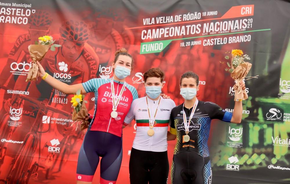 Maria Martins campeã ao sprint em Castelo Branco